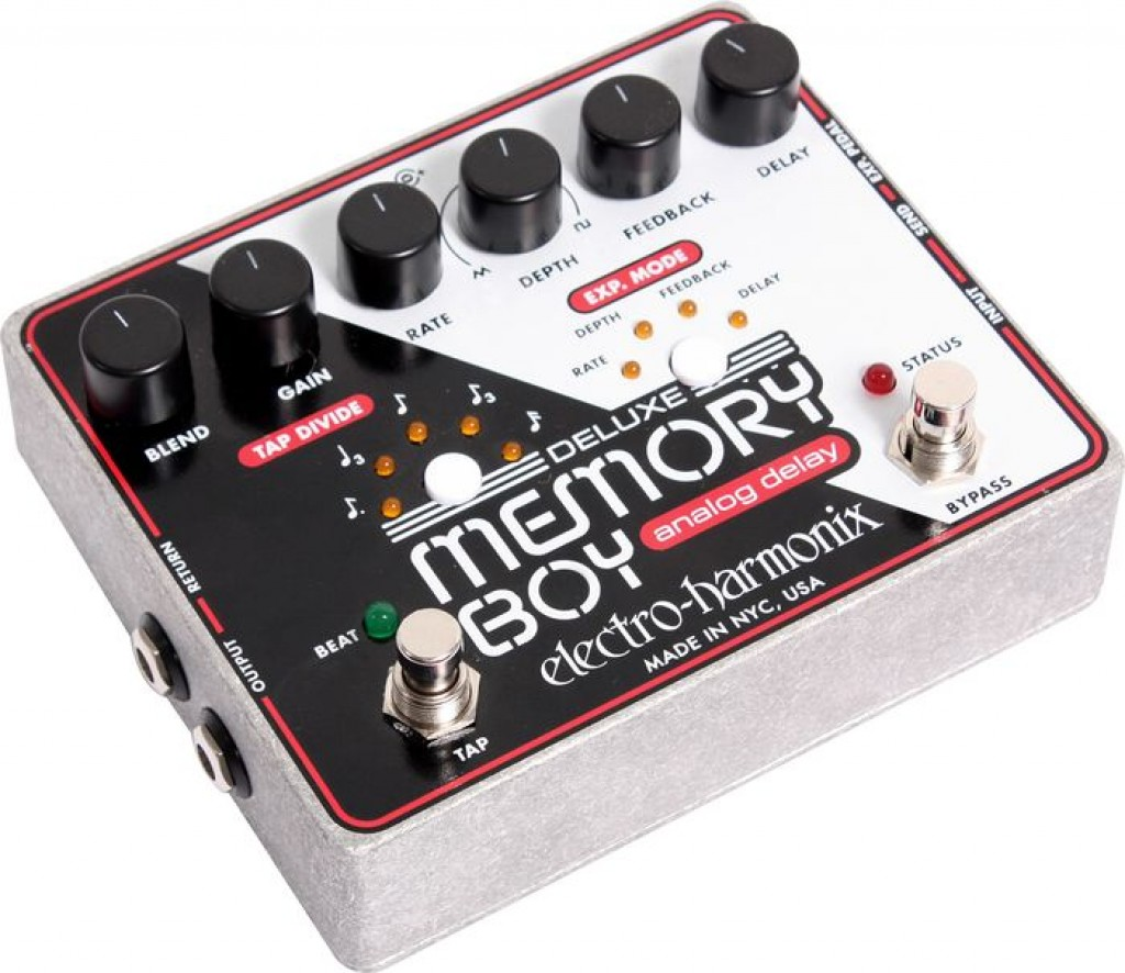 Electro-Harmonix Deluxe Memory Boy Delay Pedal - Music Machine NZ